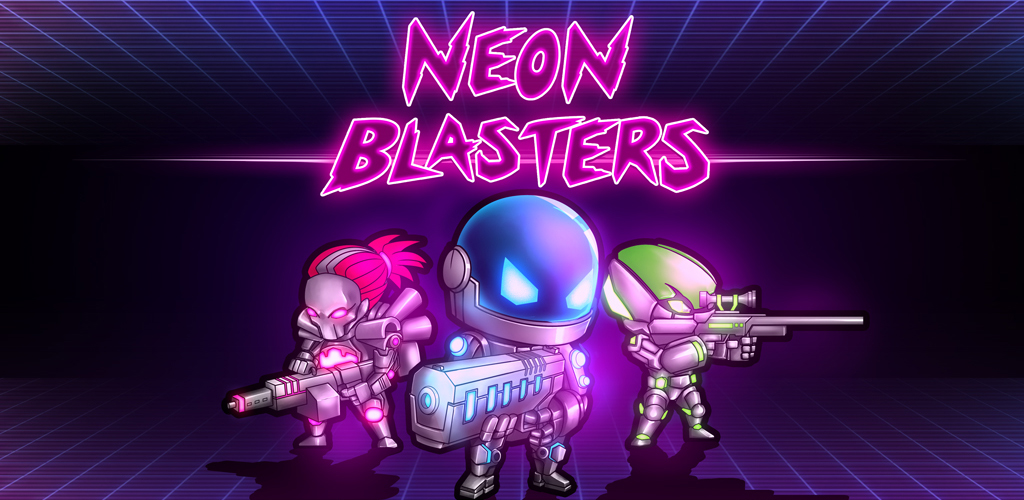 Neon Blasters Multiplayer Banner